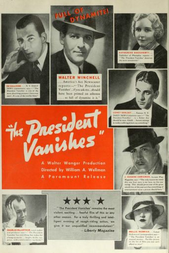 The President Vanishes Poster