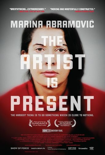Marina Abramović: The Artist Is Present Poster