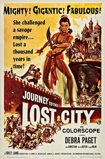 Journey to the Lost City Poster