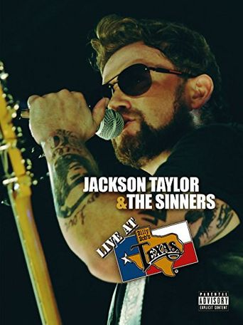 Jackson Taylor & the Sinners: Live at Billy Bob's Texas Poster