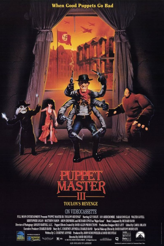 Puppet Master III: Toulon's Revenge Poster