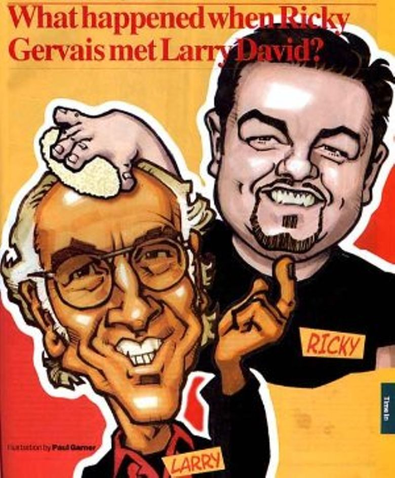 Ricky Gervais Meets... Larry David Poster