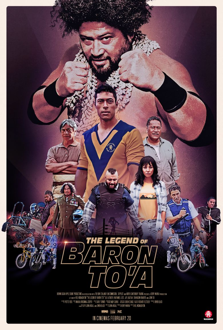 The Legend of Baron To'a Poster