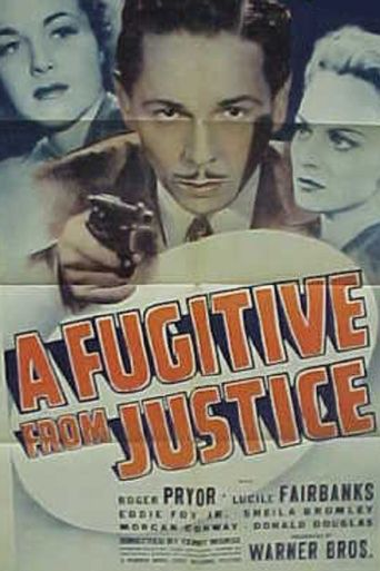 A Fugitive From Justice Poster