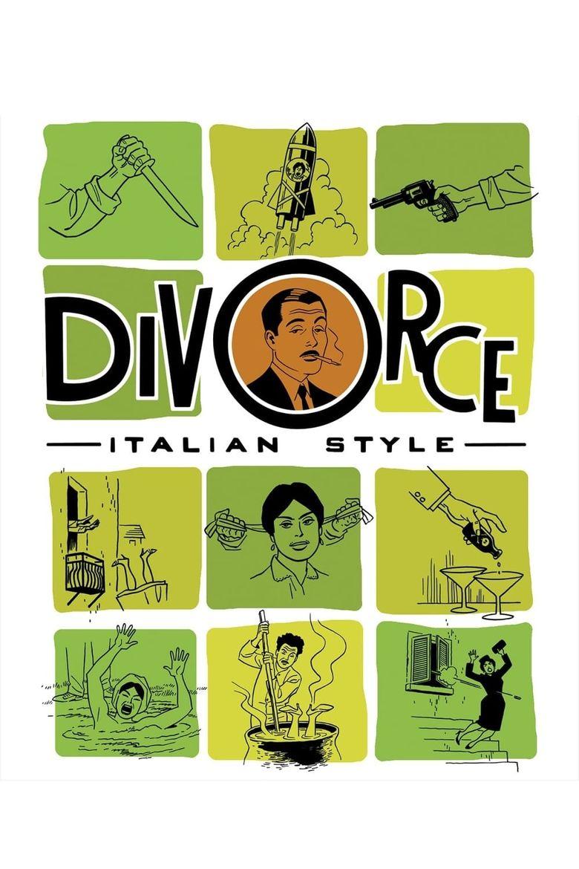 Divorce Italian Style Poster