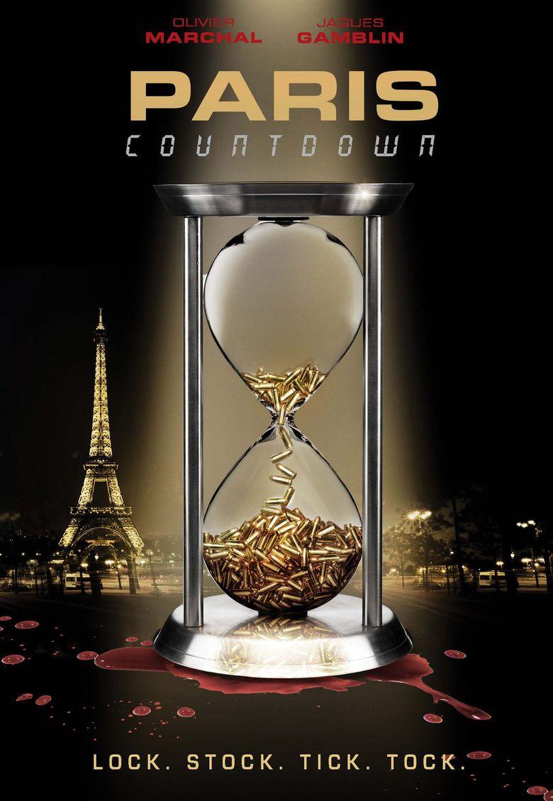 Paris Countdown Poster