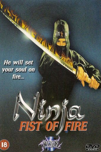 Ninja Fist of Fire Poster