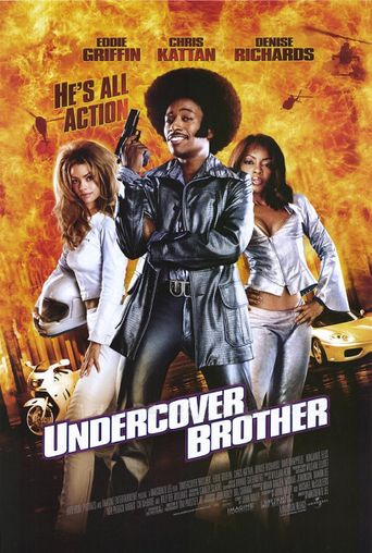 Undercover Brother Poster