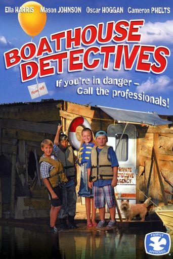Boathouse Detectives Poster