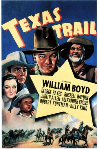 Texas Trail Poster