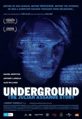Underground: The Julian Assange Story Poster