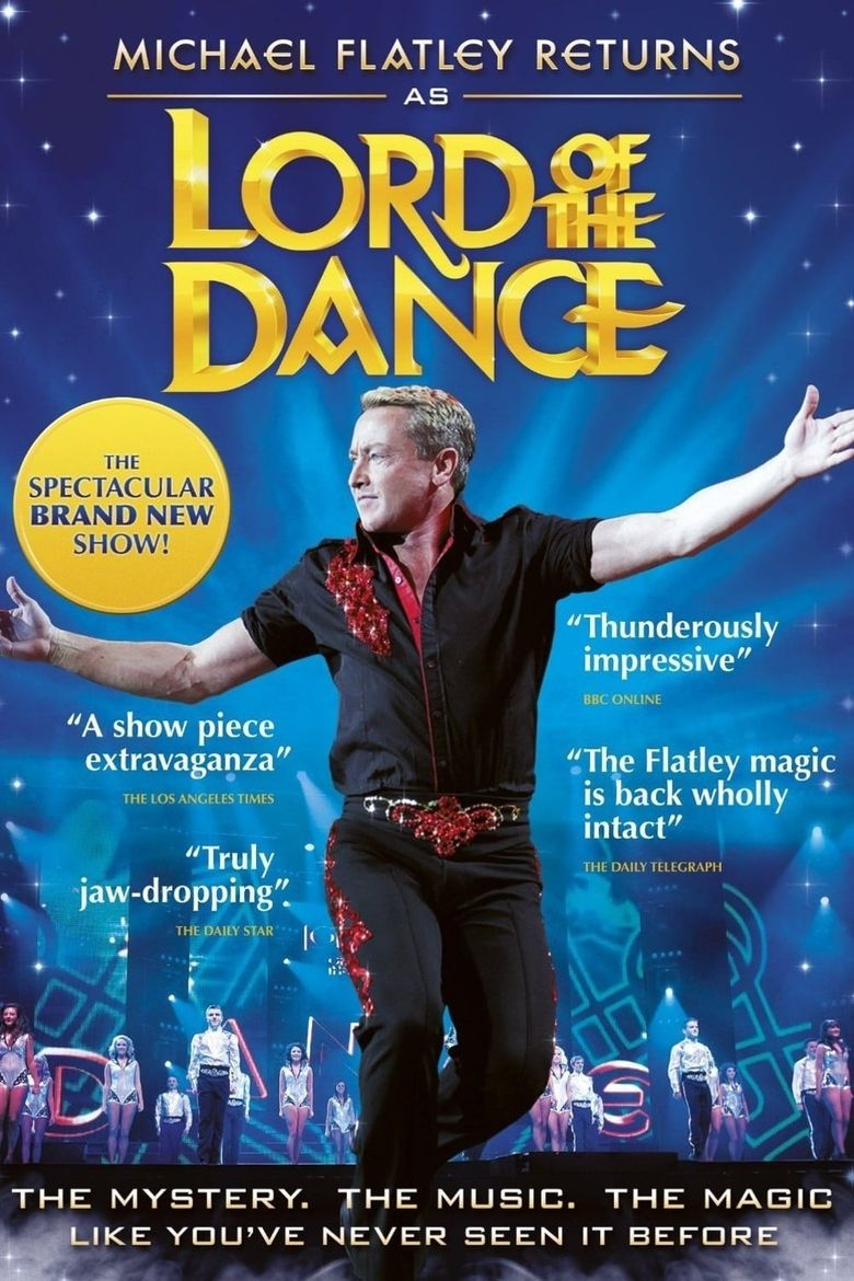 Michael Flatley Returns - Lord of the Dance Poster