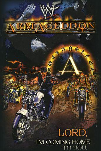 WWE Armageddon 2000 Poster