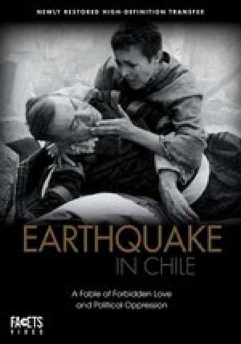 Earthquake in Chile Poster