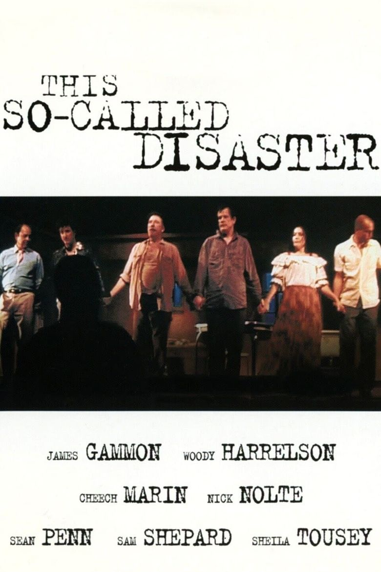 """This So-Called Disaster: Sam Shepard Directs """"The Late Henry Moss"""" Poster"""