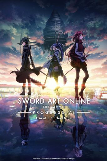 Sword Art Online the Movie -Progressive- Aria of a Starless Night Poster