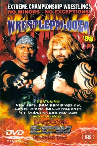 ECW Wrestlepalooza 1998 Poster