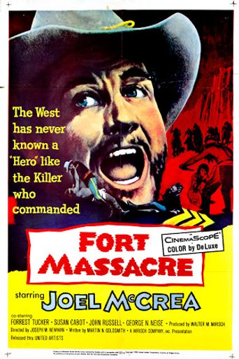 Fort Massacre Poster