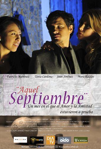 Aquel septiembre Poster