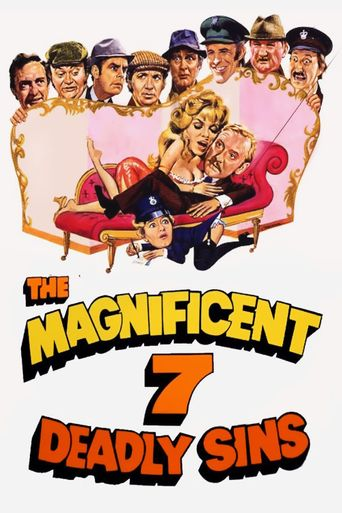 The Magnificent Seven Deadly Sins Poster