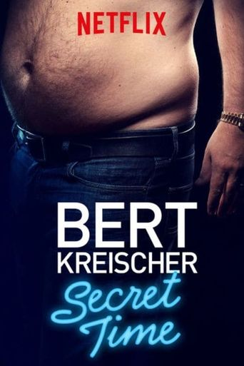 Bert Kreischer: Secret Time Poster