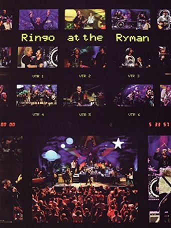 Ringo at the Ryman Poster