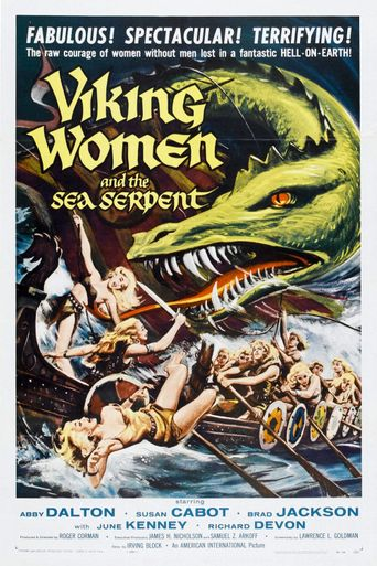 The Saga of the Viking Women and Their Voyage to the Waters of the Great Sea Serpent Poster
