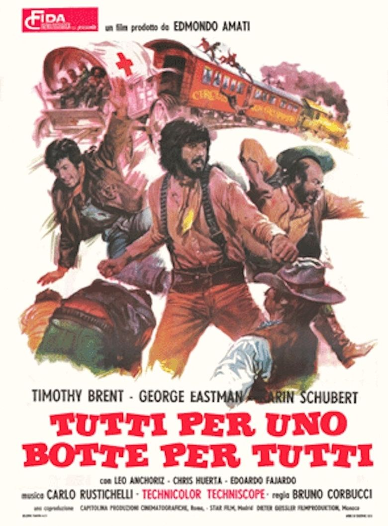 The Three Musketeers of the West Poster