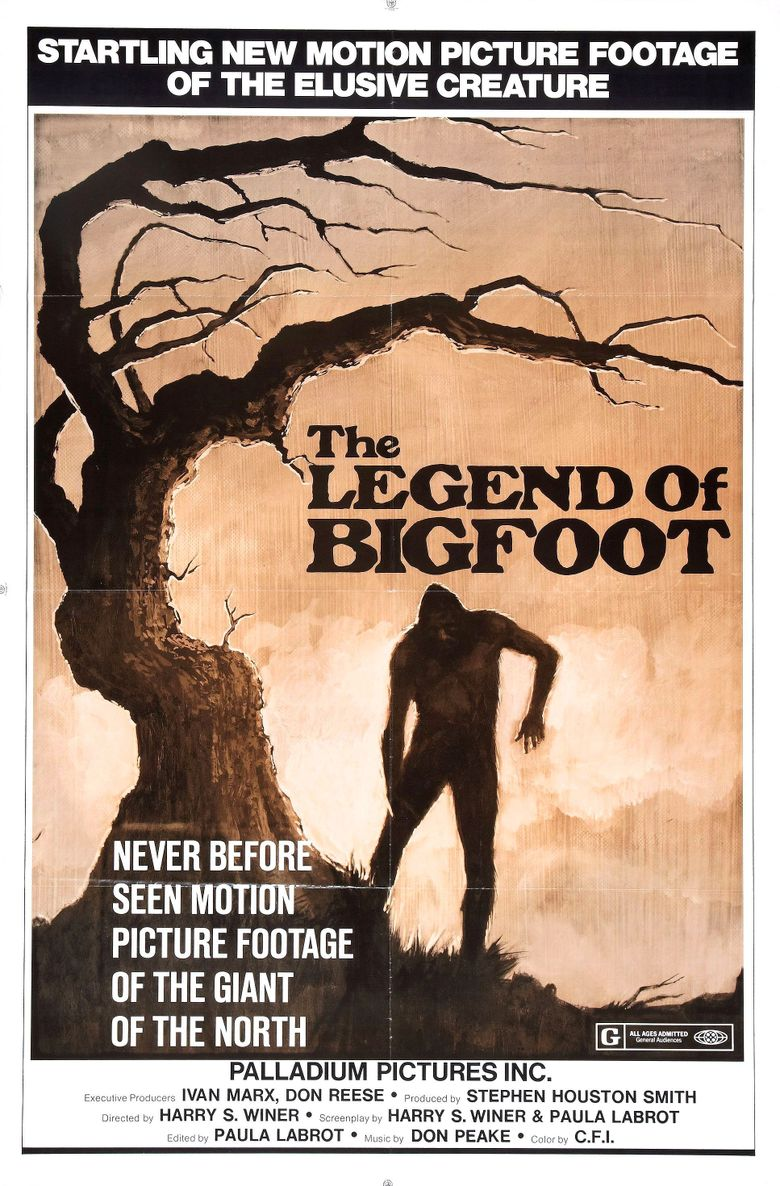 The Legend of Bigfoot Poster