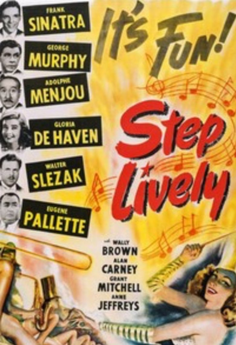 Step Lively Poster