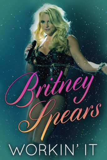 Britney Spears Workin' It Poster
