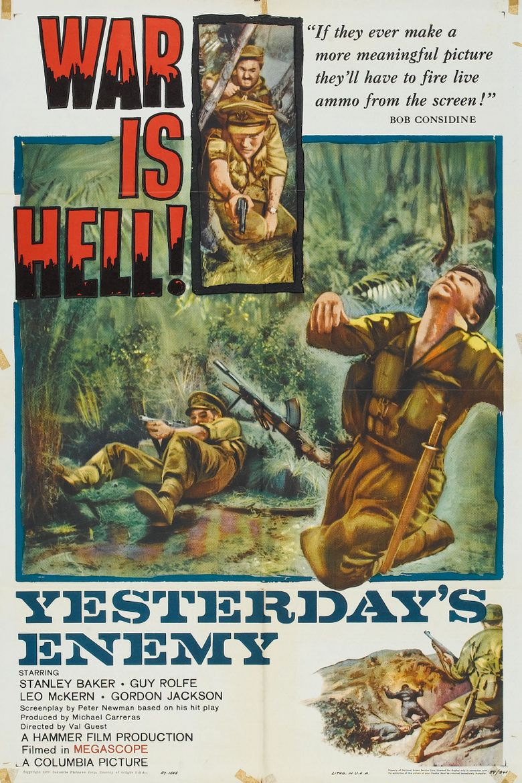 Yesterday's Enemy Poster