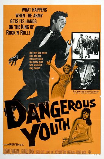 These Dangerous Years Poster