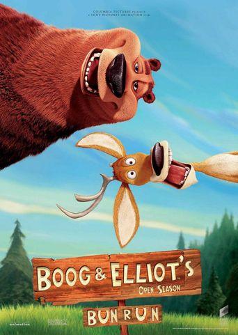 Boog and Elliot's Midnight Bun Run Poster