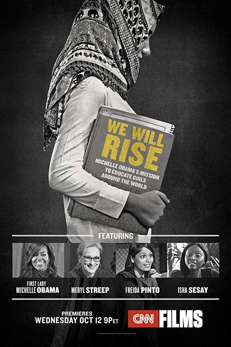 We Will Rise: Michelle Obama's Mission to Educate Girls Around the World Poster