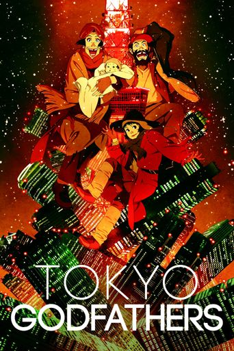 Tokyo Godfathers Poster