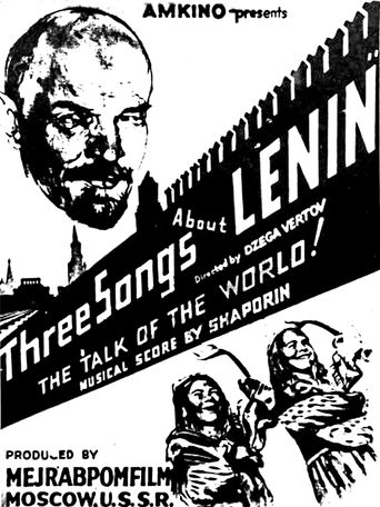 Three Songs About Lenin Poster