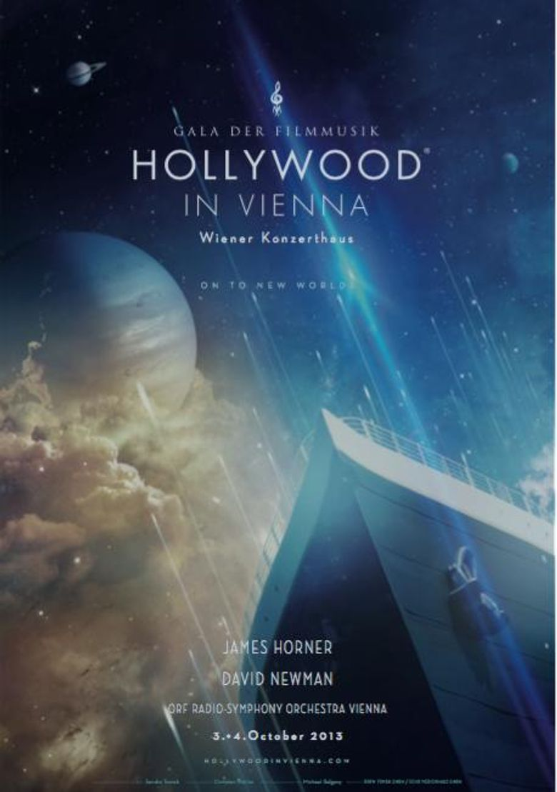 Hollywood in Vienna The World of James Horner Poster
