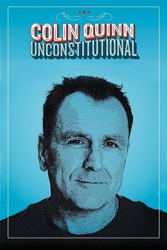 Colin Quinn: Unconstitutional Poster