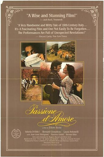 Passione d'amore Poster