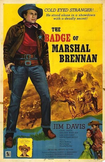 The Badge of Marshal Brennan Poster