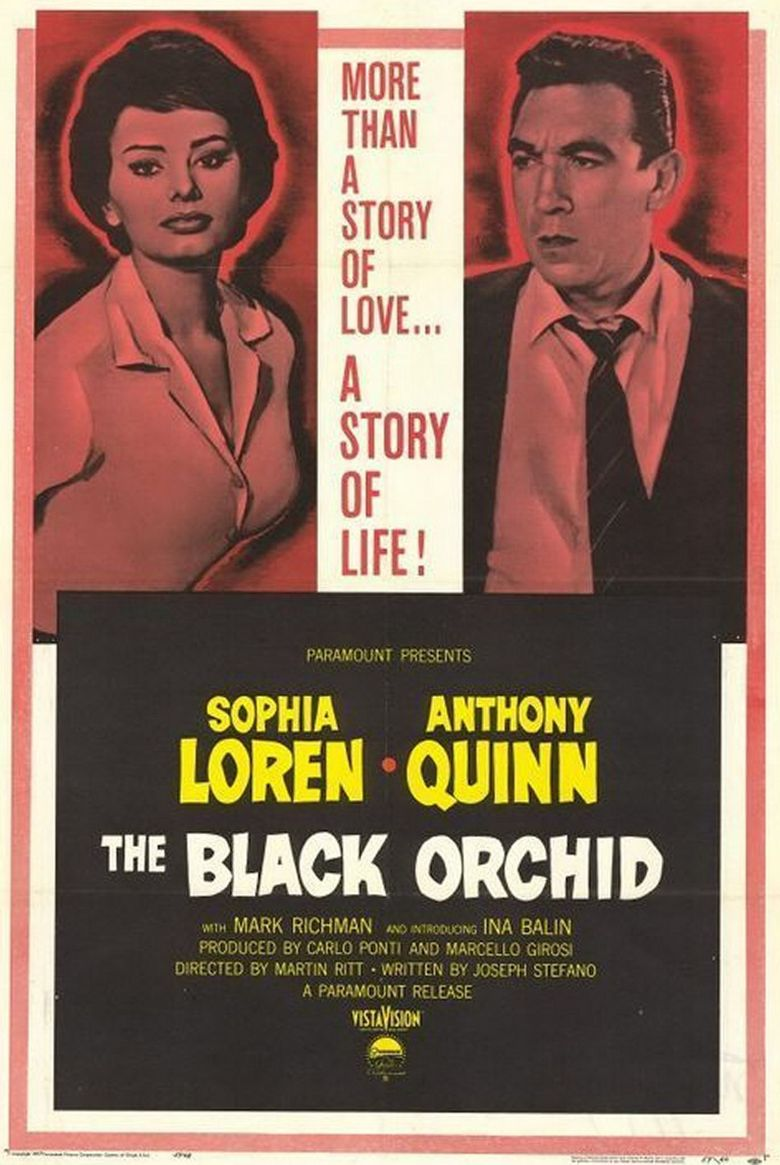 The Black Orchid Poster
