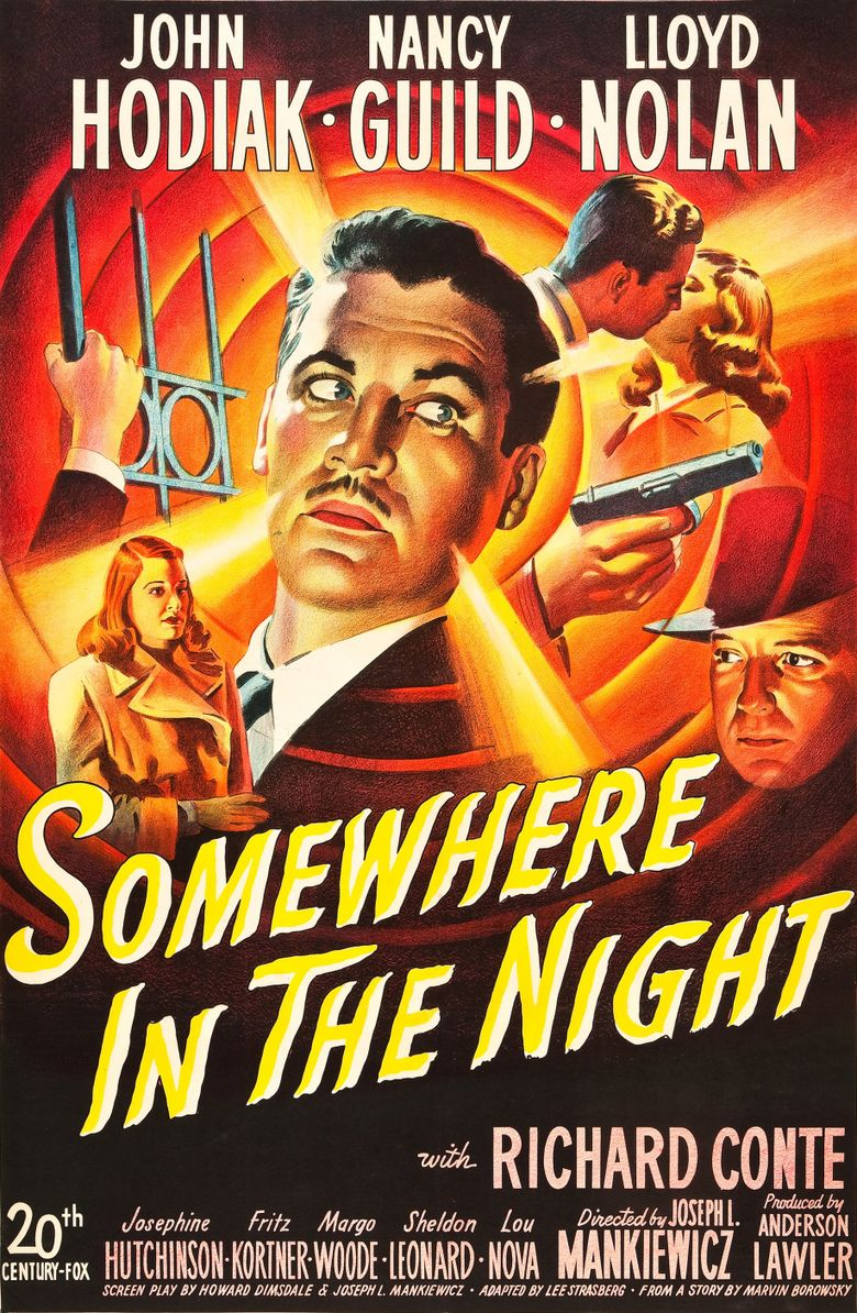 Somewhere in the Night Poster
