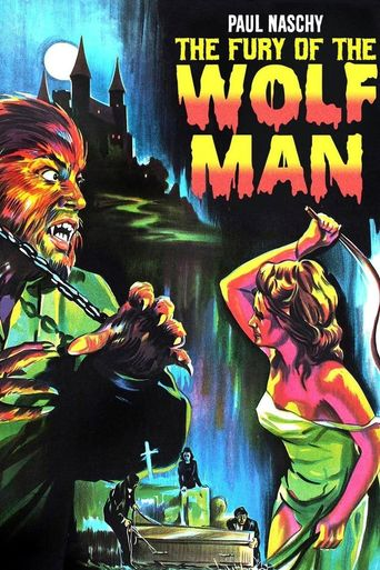 The Fury of the Wolf Man Poster