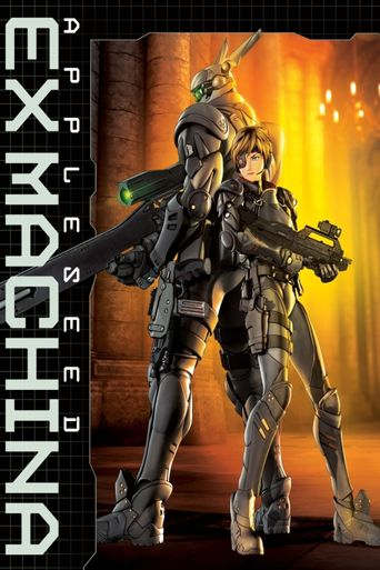 Appleseed: Ex Machina Poster