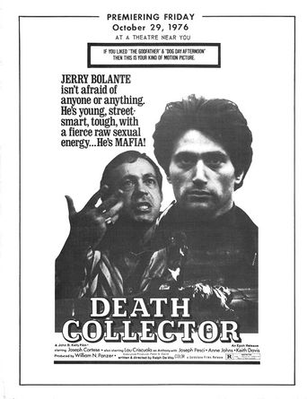 The Death Collector Poster