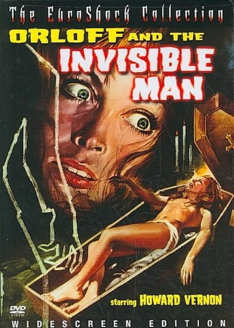 Dr. Orloff's Invisible Monster Poster