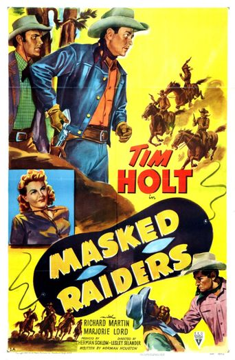 Masked Raiders Poster