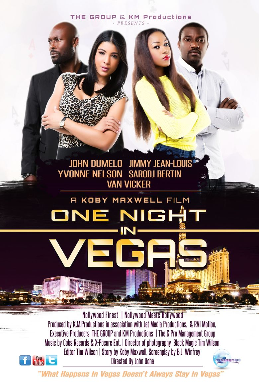 One Night in Vegas Poster