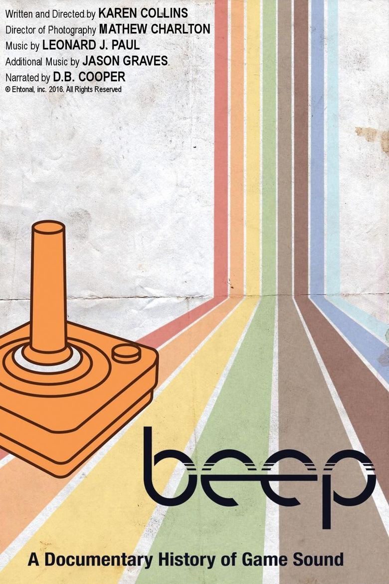Beep: A Documentary History of Game Sound Poster